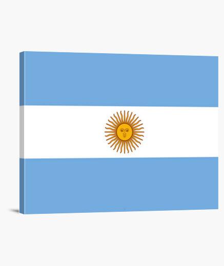 Lienzo Bandera de Argentina