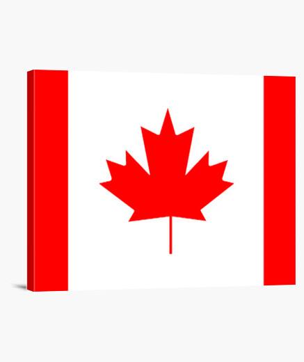 Lienzo Bandera de Canadá