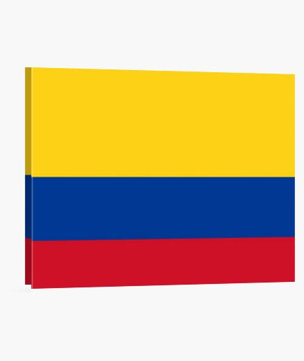 Lienzo Bandera de Colombia