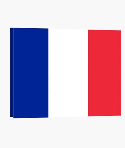Lienzo Bandera de Francia