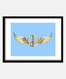bandera de paz