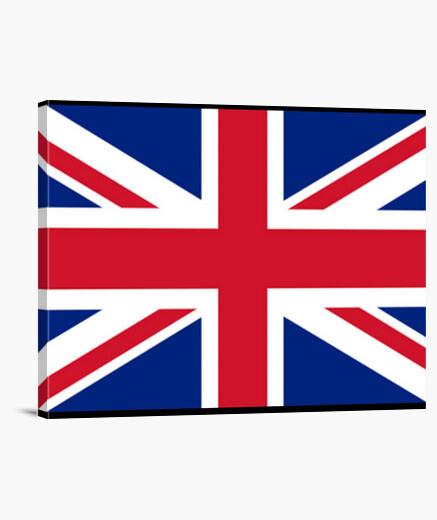 Lienzo Bandera de Reino Unido