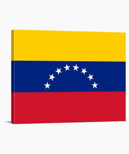 Lienzo Bandera de Venezuela