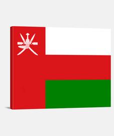Bandera del Sultanato de Omán