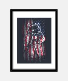 bandiera astronaut