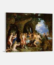 Banquete de Achelous ( Peter Paul Rubens