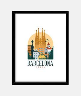 barcelona españa lindo español viajes