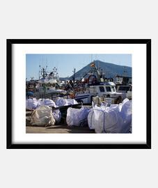 Barcos en el puerto de Altea