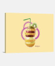 Batido de frutas (40 x 30 cm)