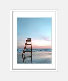 Baywatch sunset