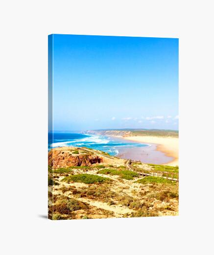 Beach portogallo - tela verticale 3: 4 -...