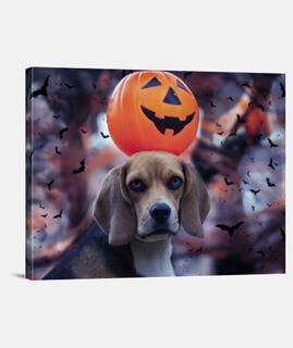 Beagle halloween Scary miedo