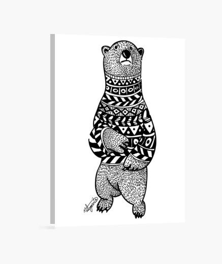 Bear canvas