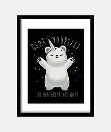 Bear yourself print
