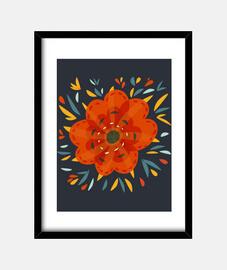 beautiful fleur d'oranger décoratif