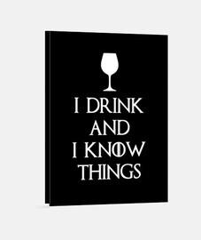 bebo y sé cosas