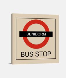 Benidorm Bus Stop