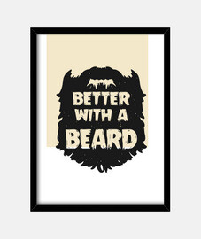 Better with a beard - Chico