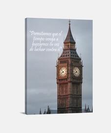 Big Ben con frase