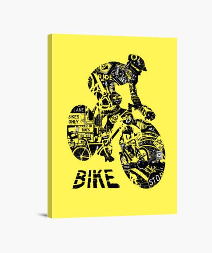 Lienzo bike collage