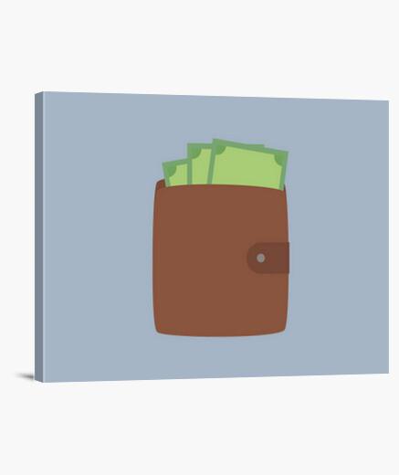 04ec5d255 Lienzo billetera con dinero - nº 1161004 - Lienzos latostadora
