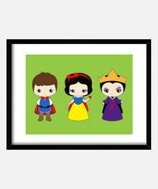 Blancanieves personajes