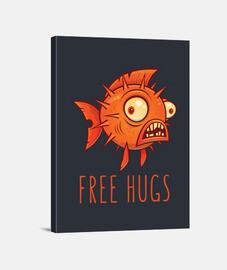 blowfish dessin animé câlins gratuit