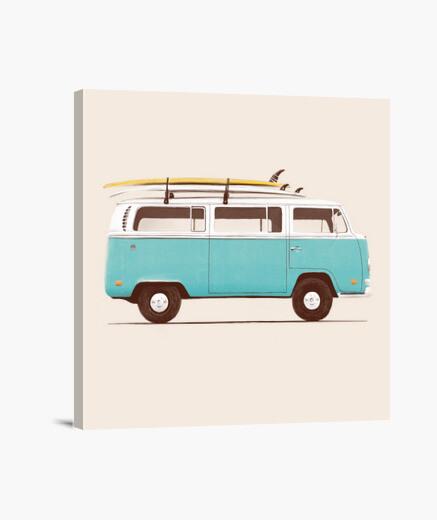 Lienzo Blue Van