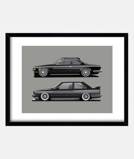 BMW e30 y e9