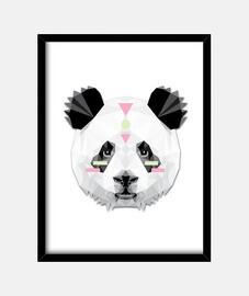 boho poly panda