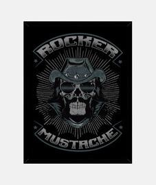 boîte Rocker rockabilly skull bikers USA rock musique