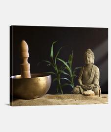 bol et bouddha tibétain