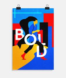 BOLD - Póster vertical 2:3 - (20 x 30 cm)