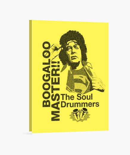 Boogaloo master Ray Barreto lienzo