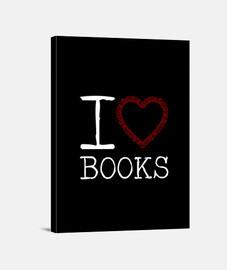 Books lienzo