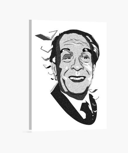 Borges lienzo