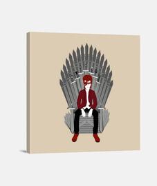 bowie trône