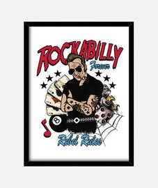 box rock musica rockabilly psychobilly rocker vintage biker rock and roll