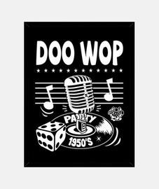 box vintage doo wop vintage music anni '50 rockabilly usa