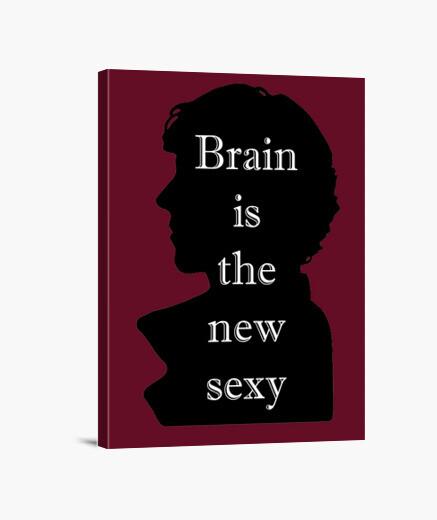Tableau brain est la nouvelle toile sexy