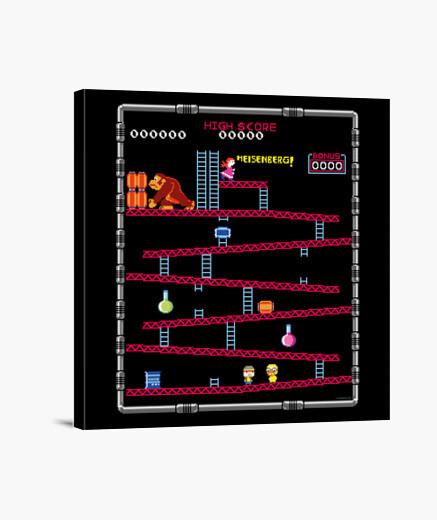 Lienzo Breaking Bad - Donkey Kong - Juegos