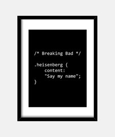 Breaking Bad CSS WB