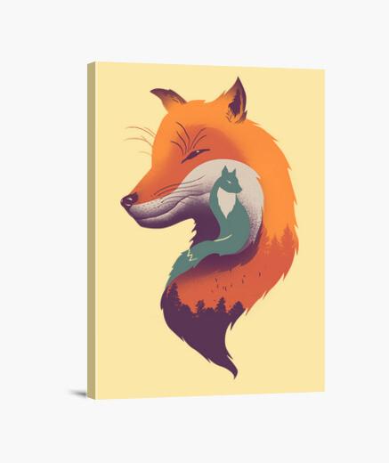 Lienzo brisa foxy