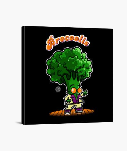 Brocoolis canvas