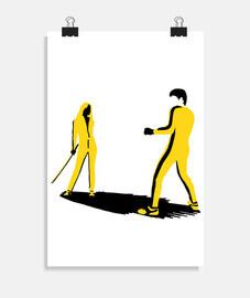 Bruce Lee vs mamba noir