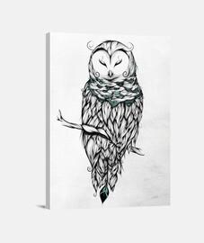 búho de las nieves poética