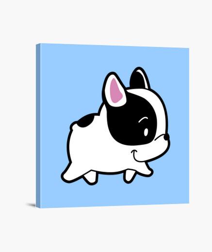 Lienzo Bulldog frances Paseando