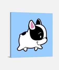 bulldog frances zu fuß