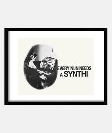 cada monja necesita un synthi