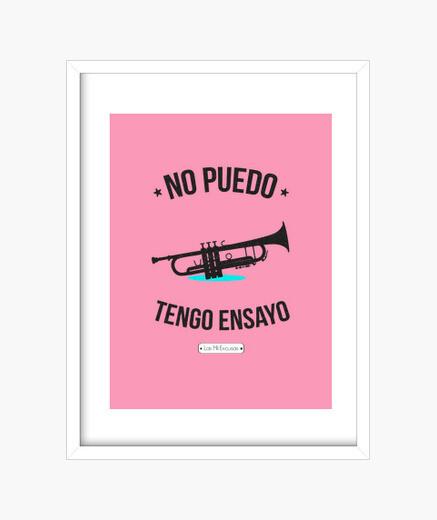 Cadre trompette